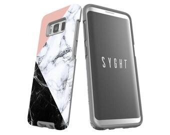 Marble Galaxy S9 Plus case Galaxy S8 case iPhone 8 Plus case iPhone X case Google Pixel 2 XL case LG V30 case Tough & Snap Cases 005