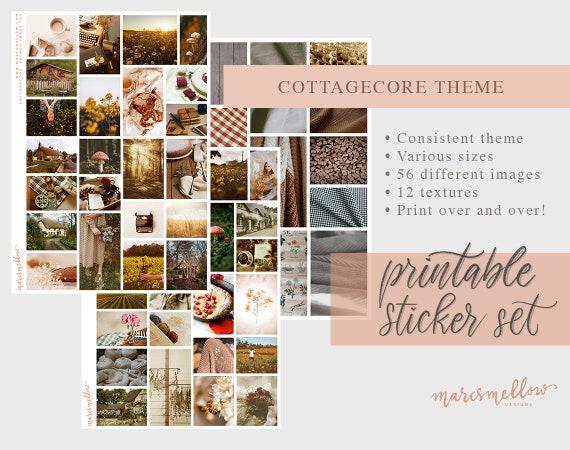 Cottagecore Themed Aesthetic Tumblr Journal Printable Image Etsy