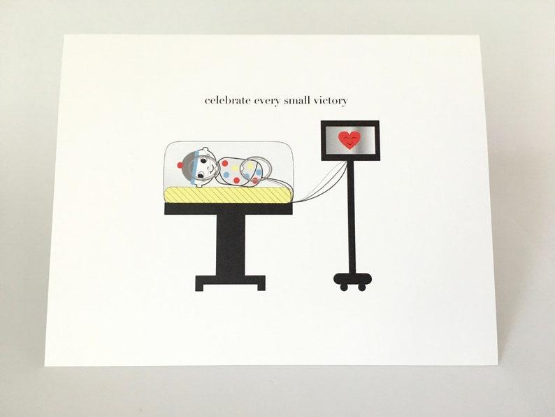 Preemie Blank Greeting Card image 1