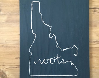 Custom Wooden State Signs.  Texas, Idaho, NY, California, Illinois etc.  housewarming/wedding/graduation/retirement/Christmas. colors/size