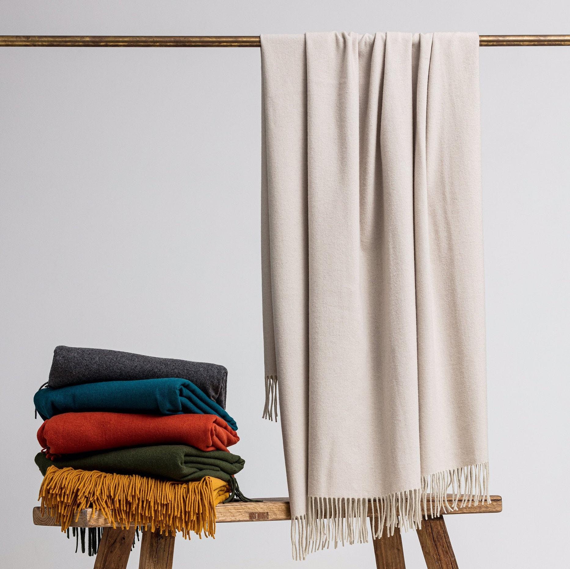 Loom Merino Cashmere Throw