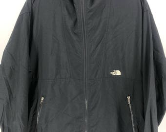 936755aea05 Vintage THE NORTH FACE Jacket Mens Medium North Face Ski Wear Black Jacket  Hoodie North Face 90s Skiing Hooded Jacket Bomber Size M  A897