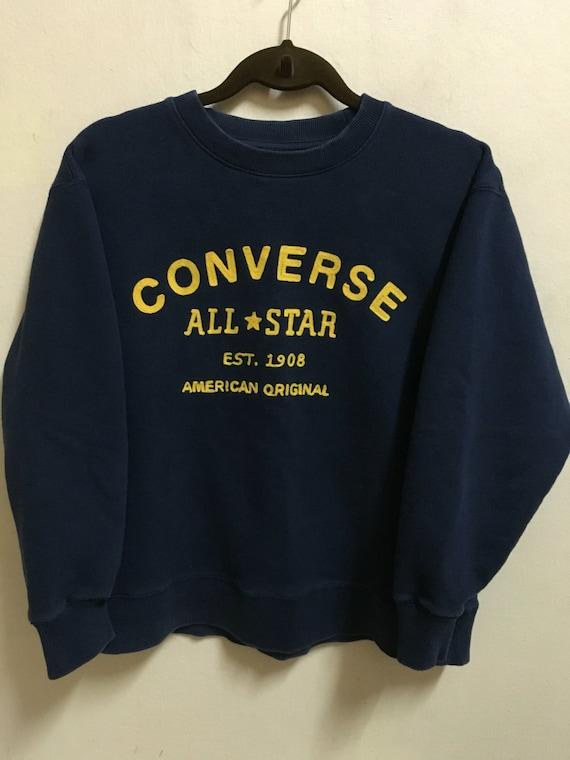 Adidas Pullover Sweatshirt Herren Klein | Schwarz weiß Retro 00er Jahre Streetwear Marke Logo Shirt