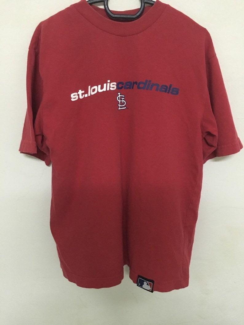 d2f31ca3a2de5 Vintage 90's Major League Baseball St Louis Cardinals Design Shirt Size S  #B17