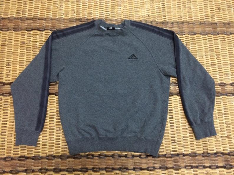 finest selection 0831b ef839 Vintage 90 s Adidas Black 3 Stripes Sport Classic Design   Etsy