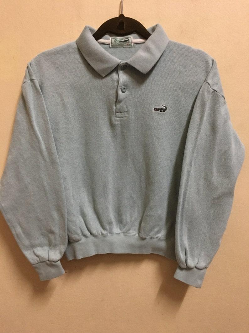 aae7de1a Vintage 90's Crocodile Design Skate Sweat Shirt Sweater | Etsy