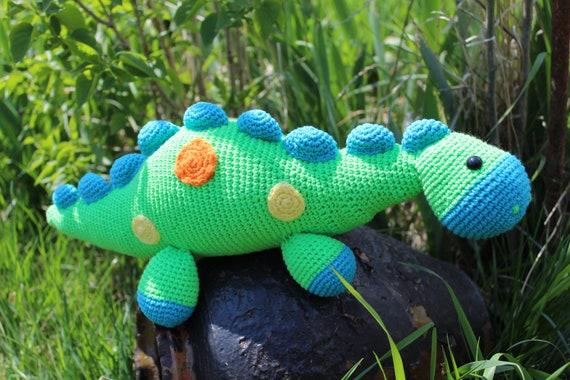 Amigurumi Dinosaur Free Pattern | Amigurumi #amigurumi knitting ... | 380x570