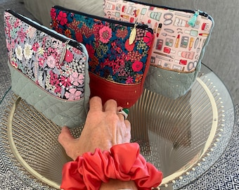 Toiletries, make-up bag, liberty pouch, gift idea, make-up pouch