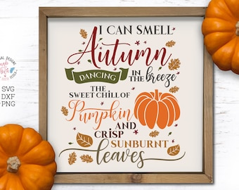 Svg Autumn Themed Cutting File Kwd005 Dxf Svg Eps Png Etsy