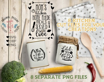 Kitchen svg, Kitchen svg files, Kitchen Bundle, Kitchen Cut File, Mommy's Kitchen SVG, Bless this Kitchen svg, Lick the Bowl Svg, dxf file