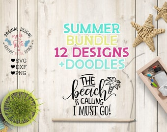 summer svg bundle, beach svg, beach bundle, svg beach quotes, t-shirt designs, girls svg, vacation svg, wish upon a starfish svg, cut files