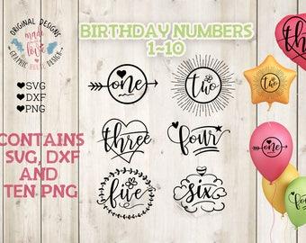Birthday svg bundle, birthday numbers svg, Baby Girl svg, Birthday svg, baby bundle SVG, girl svg, number svg, baby t-shirt design, svg file