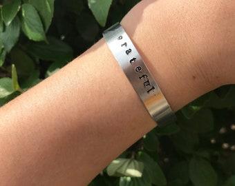 Grateful Cuff Bracelet
