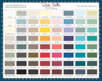 Dixie Belle Chalk Mineral Paint -64 Colors - ! FREE SHIP over 35.00- most colors ship same day!!