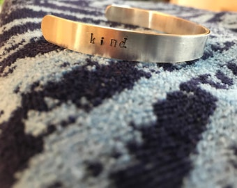 Kind Cuff Bracelet