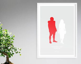 Sandra Bullock as LEIGH ANNE TUOHY from The Blind Side, Good Mom of Cinema Poster print, Minimalist Movie Poster, wall art, sports poster