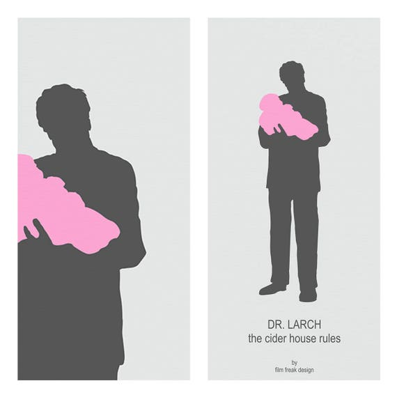 Michael Caine As Dr Larch From The Cider House Rules Etsy