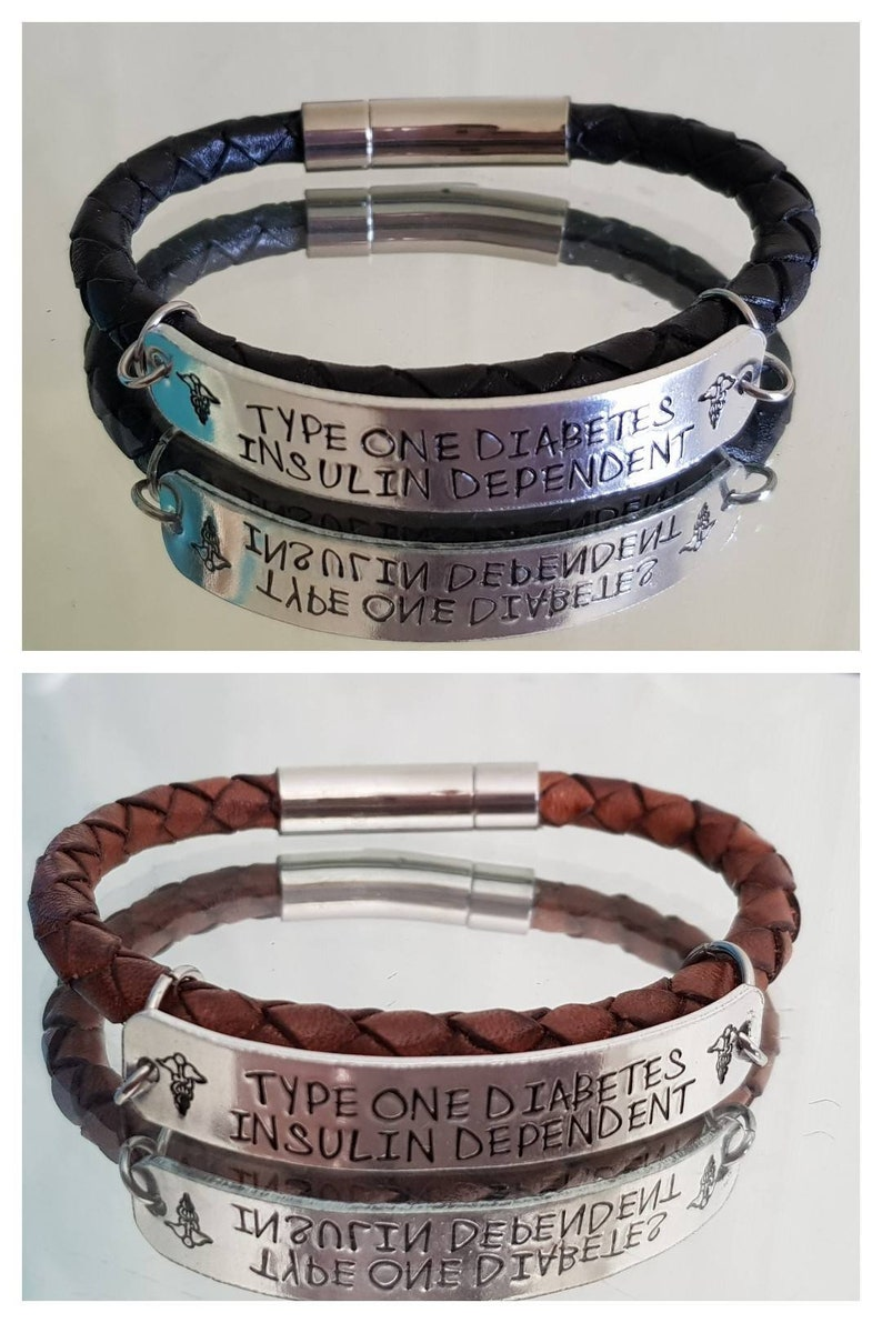 Childrens ID bracelet custom wording and made to measure Choose from 10 different cords.