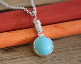 Turquoise Spring Necklace