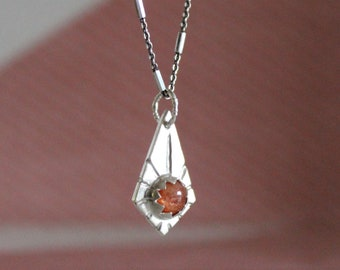 Sunstone Sunrise Necklace