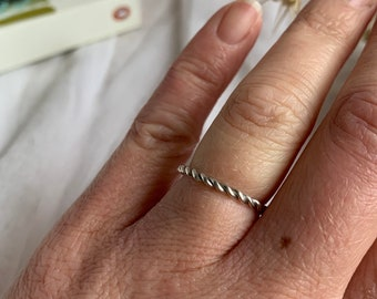 The Twist Stacker Ring