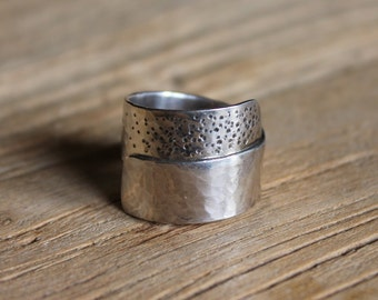 SIZE O - Dot Wrap Ring