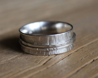 SIZE R - SPINNER RING