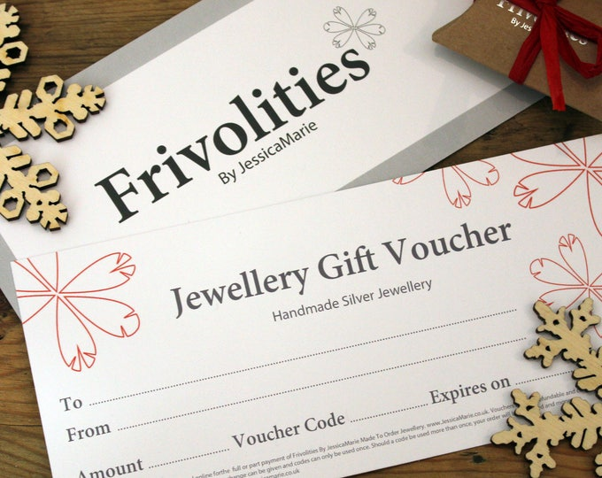 Featured listing image: Jewellery Gift Voucher