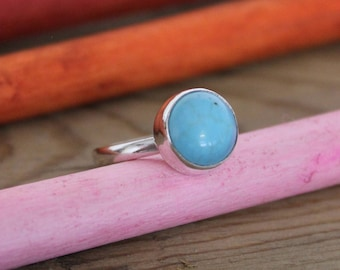SIZE L - TURQUOISE RING