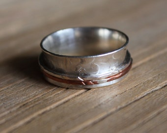 SIZE M 1/2 - SPINNER RING
