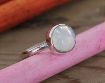 Rainbow Opalite Stacking Ring