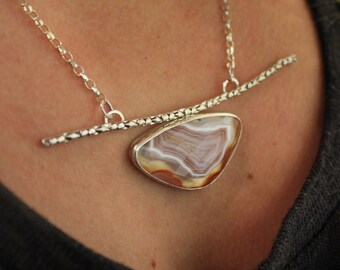 Laguna Agate necklace