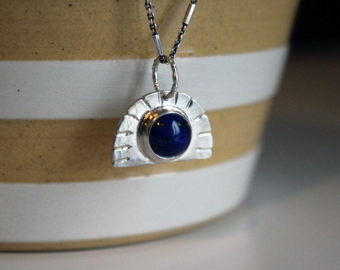 Lapis Lazuli Sunrise Necklace