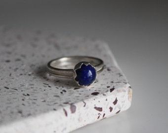 Lapis Lazuli Sun Ring