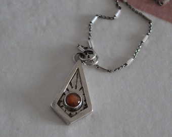 Sunstone Through My Window Necklace