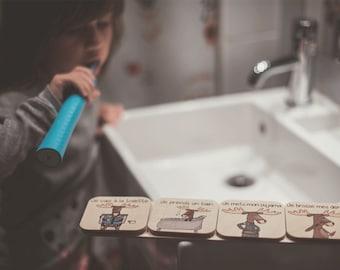 Bathroom Routine - Boreal in Pajamas!