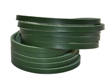 Double Wrap Leather Bracelet Green / Leather Band Bracelet, Mens Bracelet / Leather Cuff Bracelet, Leather Wristband, Leather Wrap Bracelet