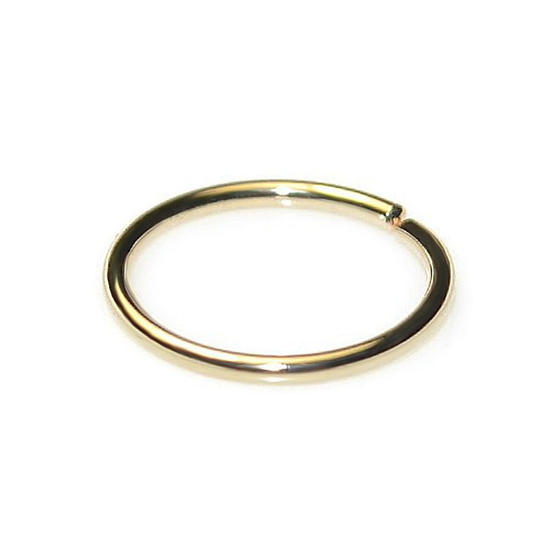 Daith Piercing Helix Piercing  Tragus Ring Nose Hoop Nose Ring Gold Tragus Earring 16g  Cartilage Earring