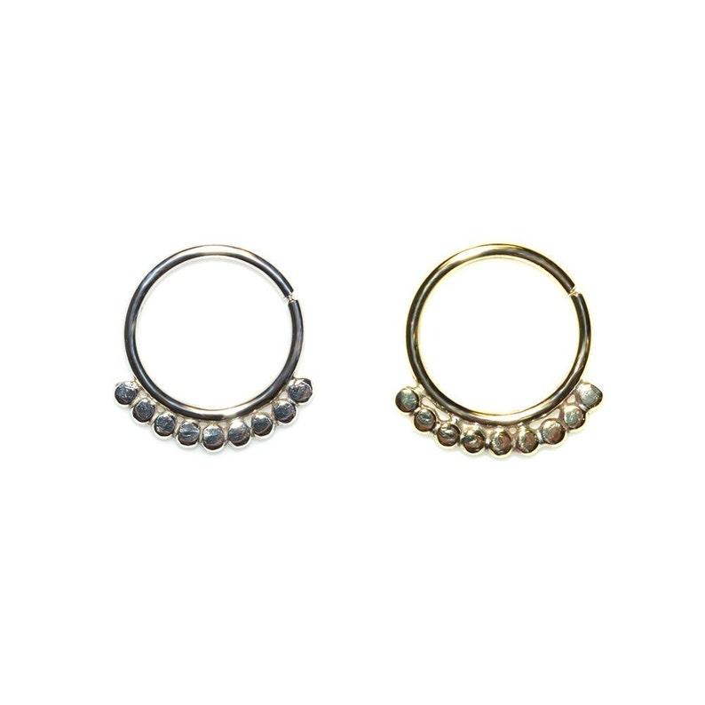 Cartilage Earring Septum Piercing  Nipple Ring Helix Piercing Gold Septum Ring 14g  Nose Ring Septum Jewelry
