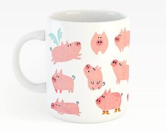 Piglets- cute mug