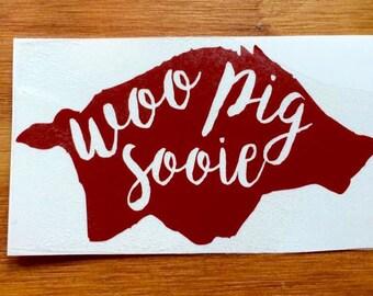 Woo Pig Sooie Vinyl Decal