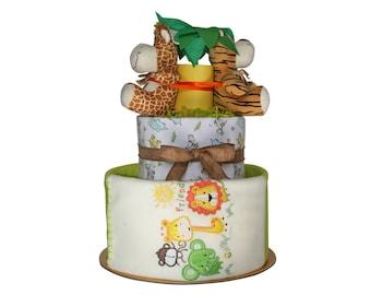 FUNNY SAFARI Nappy cake
