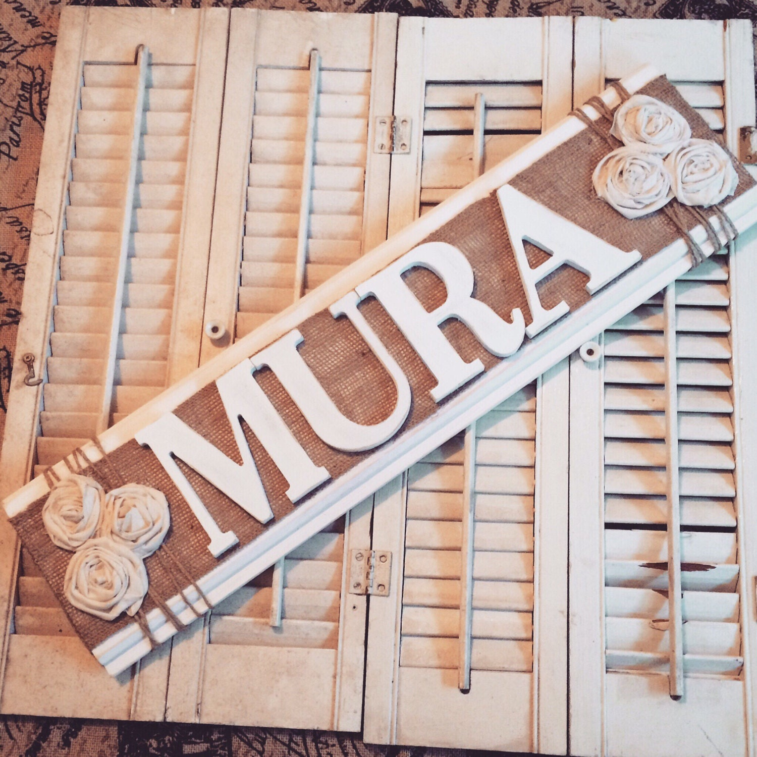 Personalized Home Decor Custom Last Name Sign Rustic Home