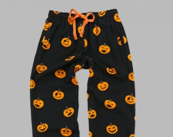 halloween pajama pants monogrammed pj pants pumpkin pajamas holiday boxers halloween sleepover pants halloween pajama