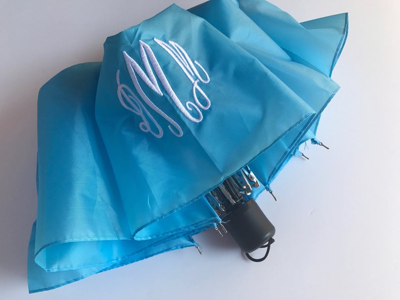 Monogrammed Umbrellas / Rain Umbrella / Personalized Umbrellas image 0