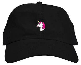 06c938a88be Unicorn Dad Hat Baseball Cap Low Profile