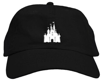 8285a0c72a5cc Cinderella Princess World Castle Dad Hat Baseball Cap Low Profile