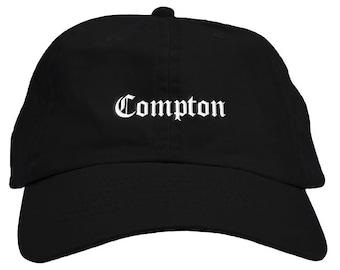 7ee2631aece Compton Dad Hat Baseball Cap Low Profile