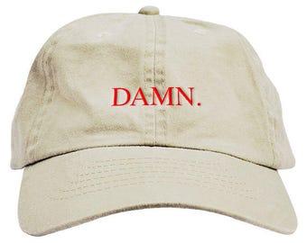 DAMN Dad Hat Baseball Cap Low Profile df4c30ddf8e1