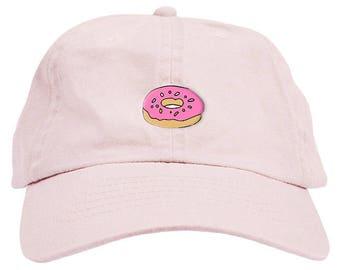 5f02e15c86f Donut Dad Hat Baseball Cap Low Profile